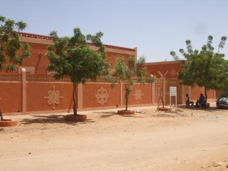 Nové dětské záchytné středisko v Agadezu