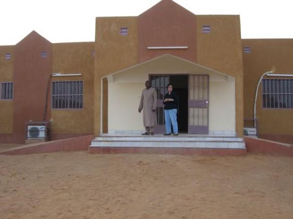 Dětské záchytné středisko v Tahoua existuje od roku 1996